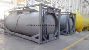 24000L 20FT Carbon Steel 22bar Pressure Tank Container for R22, R134A, R32, LPG pictures & photos