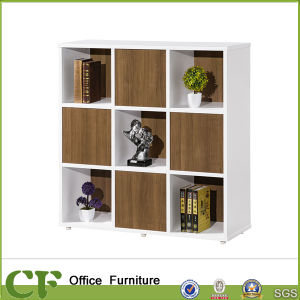 Matched Color Open Storage Books Shelf Without Doors pictures & photos