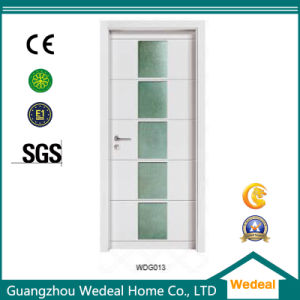 Customize Interior Solid Wooden Door with Glass pictures & photos