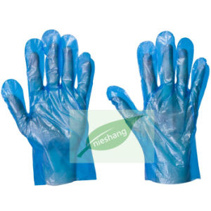 HDPE Plastic Disposable PE Gloves pictures & photos