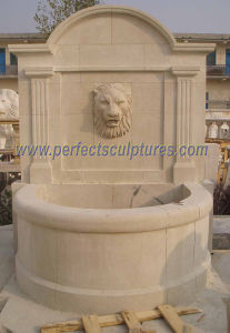 Stone Carving Wall Fountain for Garden Carved Water Fountain (SY-W059) pictures & photos
