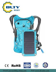 Waterproof Travelling Solar Power Backpack Outdoor pictures & photos