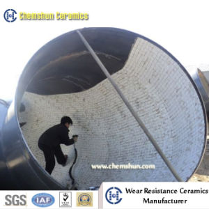 Wear Resistant Alumina Ceramic Lined Pipe for Slurry, Powder Removal pictures & photos