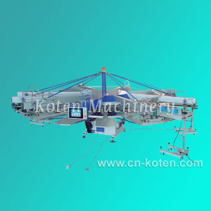 Automatic Rotary Silk Screen Printing Machine pictures & photos