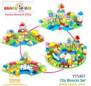 Wooden Toys-Scene Block (YT5487)