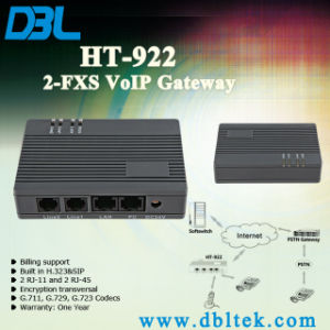 2 Port FXS Gateway Support T. 38 pictures & photos