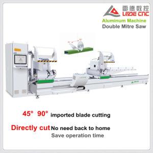 Aluminum Profile Double Mitre Cutting Saw Machine 45 90 Degree pictures & photos