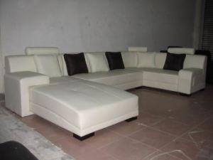Leather Sofa/Corner Sofa (C033)