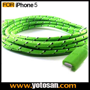 6ft 2m Long Nylon USB Data Cable for iPhone5