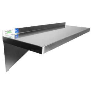 Good Price Stainless Steel 201 Wall Shelf for Kitchen pictures & photos