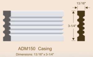 Primed MDF Door Casing/Door Frame pictures & photos