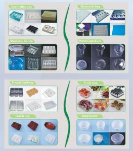 Disposable Plastic Contrainer Thermoforming Machine pictures & photos