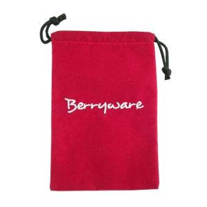 4*6 Red Velvet Bag for Packaging Jewelry