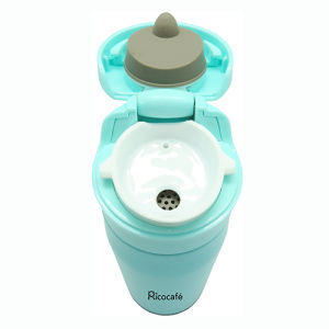 Sky Blue Stainless Steel Vacuum Sports Bottle pictures & photos