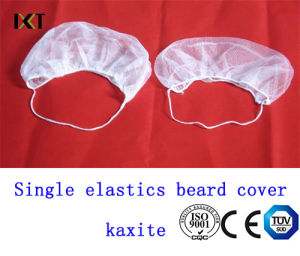 Disposable Nonwoven Beard Mask with Double Elastics for Medical or Food Industry Kxt-Nbc01 pictures & photos