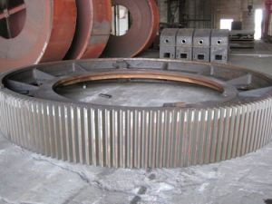 Girth Gear, Tyre and Other Spare Parts in Cement Production Line pictures & photos