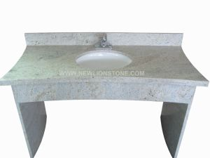 Kashmir White Granite Vanity Top and Countertop