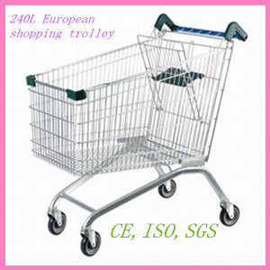240L European Style Shopping Trolley