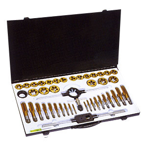 45PCS-2 Metric Tap and Die Set, Alloy Steel