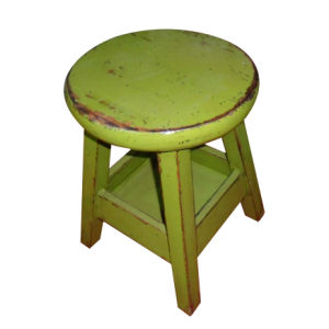 Chinese Antique Furniture Wooden Stool Lws076-2 pictures & photos