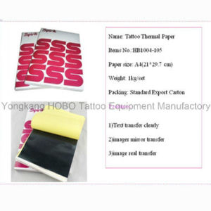 Top Grade Tattoo Accessories Tattoo Thermal Stencil Paper 100 Sheets pictures & photos