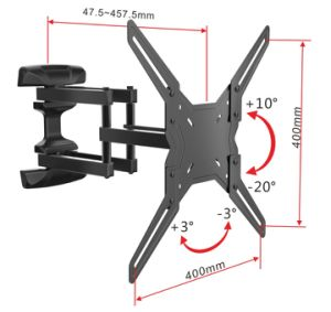 Vesa 400*400 LED LCD TV Wall Mount for 32-55 Inch TV