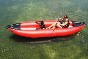1 Person Kayak Inflatable Boat PVC Rowing pictures & photos