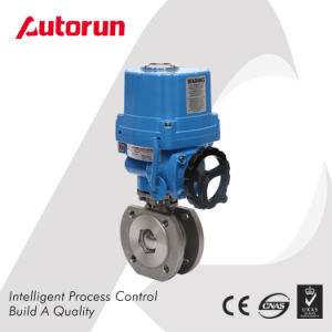 SUS Flanged Ball Valve with Electrical Actuator pictures & photos