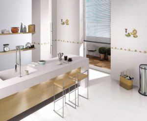 White Interior Ceramic Wall Tile (45M093) pictures & photos
