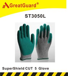 Supershield Latex Cut 5 Glove (ST3050L) pictures & photos