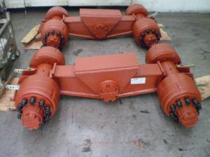 80-120t Heavy Duty Yuek 16 Wheels Axle