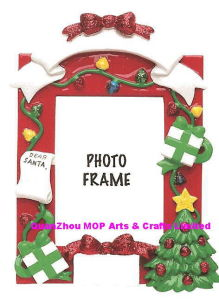 Polyresin Photo Frame, Christmas Gifts Frame pictures & photos