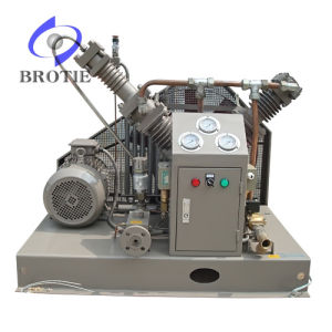 Brotie No Oil Lubrication Nitrogen Gas Compressor pictures & photos