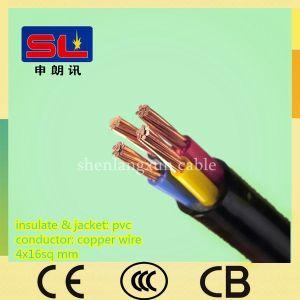 600/1000V 4 Core 16mm Unshield XLPE Power Cable