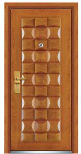Steel Wooden Door (FXGM-A102) pictures & photos