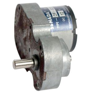 DC Square Gear Motor (DF-520) for Door Lock pictures & photos