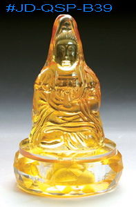 Crystal Buddhism Coloured Glaze Crafts for Room Decoration (JD-QSP-B39) pictures & photos