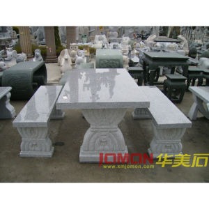 Granite Table, Stone Furniture, Garden Furniture (XMJ-GT01)