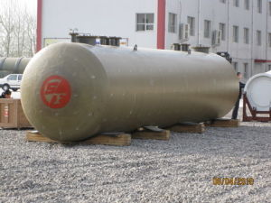 Double Wall FRP Jacketed Steel Tank pictures & photos