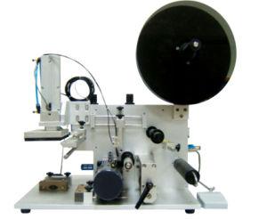 Semi-Auto Pneumatic Flat Bottle Sticker Labeling Machine (Gh-P150) pictures & photos