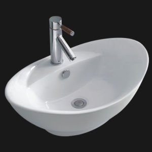 Porcelain Bathroom Vessel Made in China Sink (6003) pictures & photos
