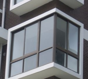 Aluminum Corner Window (ZXJH017) pictures & photos