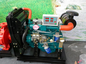 Water Cooled, 15kw-22kw Diesel Engine for Generator Set pictures & photos