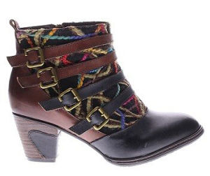 Western Inspired Design Hq Leather Ankle Boots pictures & photos