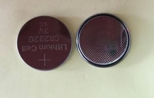Cr2320 3V 120mAh Lithium Button Dry Battery Cell Coin pictures & photos