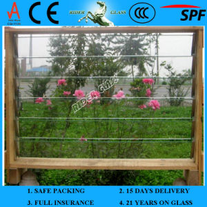 4-12mm Ce and ISO9001 Float Glass for Louvre Glass pictures & photos