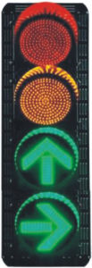 LED Traffic Signal Light (FX300-3-ZGSM-4) pictures & photos