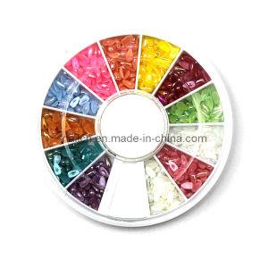 Nail Art, Nail Decoration, Nail Art Pearl, Double Colors Drop Shape Nail Pearl pictures & photos