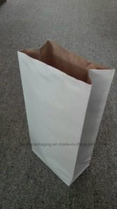 Wood Charcoal Kraft Paper Bag BBQ Charcoal Packaging Paper Bag pictures & photos