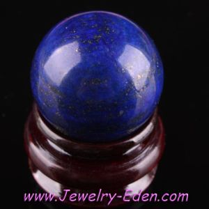 Genuine Lapis Lazuli Round Gemstone Ball (PC009)